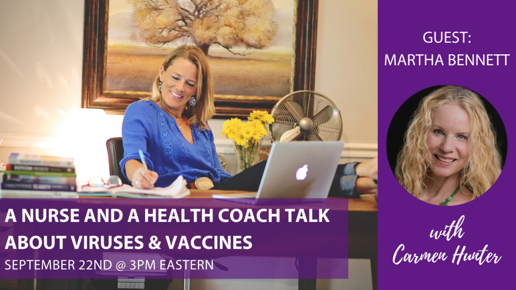 A nurse and a health coach conversation about viruses, vaccines and more